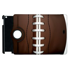 Football Ball Apple Ipad 2 Flip 360 Case by BangZart