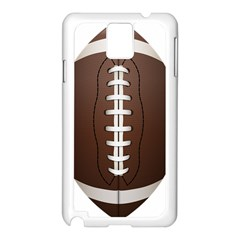 Football Ball Samsung Galaxy Note 3 N9005 Case (white) by BangZart