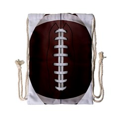 Football Ball Drawstring Bag (small)