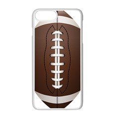 Football Ball Apple Iphone 7 Plus White Seamless Case by BangZart