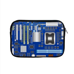 Classic Blue Computer Mainboard Apple Macbook Pro 15  Zipper Case by BangZart