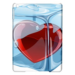 Heart In Ice Cube Ipad Air Hardshell Cases