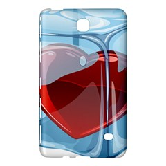 Heart In Ice Cube Samsung Galaxy Tab 4 (8 ) Hardshell Case