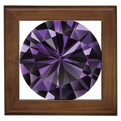 Amethyst Framed Tiles