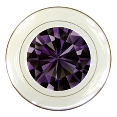 Amethyst Porcelain Plates by BangZart