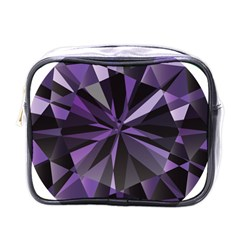 Amethyst Mini Toiletries Bags by BangZart