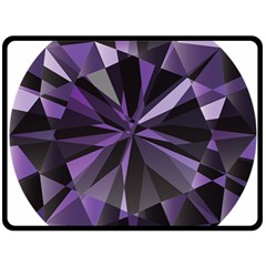 Amethyst Double Sided Fleece Blanket (large)