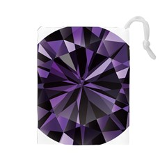 Amethyst Drawstring Pouches (large)
