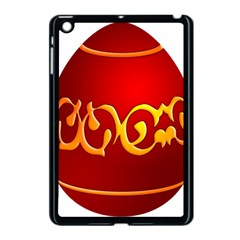 Easter Decorative Red Egg Apple Ipad Mini Case (black) by BangZart