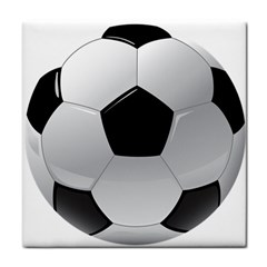 Soccer Ball Tile Coasters by BangZart