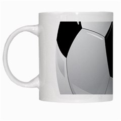Soccer Ball White Mugs by BangZart