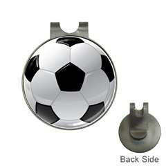Soccer Ball Hat Clips With Golf Markers by BangZart