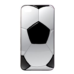 Soccer Ball Apple Iphone 4/4s Seamless Case (black) by BangZart