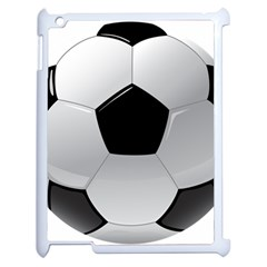 Soccer Ball Apple Ipad 2 Case (white) by BangZart