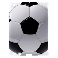 Soccer Ball Apple Ipad 3/4 Hardshell Case (compatible With Smart Cover) by BangZart