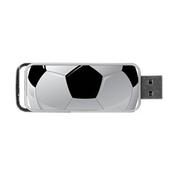 Soccer Ball Portable Usb Flash (one Side) by BangZart