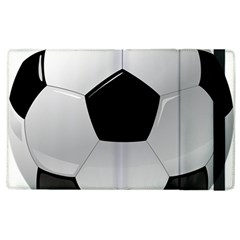 Soccer Ball Apple Ipad 2 Flip Case by BangZart