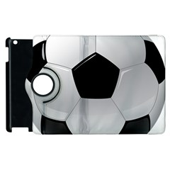 Soccer Ball Apple Ipad 2 Flip 360 Case by BangZart