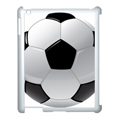 Soccer Ball Apple Ipad 3/4 Case (white) by BangZart