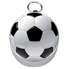 Soccer Ball Silver Compasses
