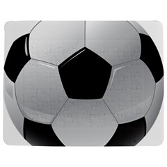 Soccer Ball Jigsaw Puzzle Photo Stand (rectangular) by BangZart