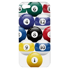 Racked Billiard Pool Balls Apple Iphone 5 Hardshell Case by BangZart