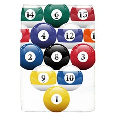 Racked Billiard Pool Balls Flap Covers (s)  by BangZart