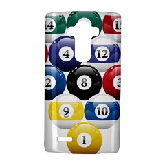 Racked Billiard Pool Balls Lg G4 Hardshell Case