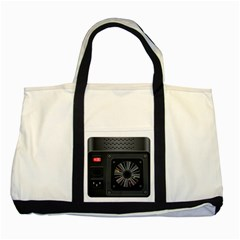 Special Black Power Supply Computer Two Tone Tote Bag by BangZart