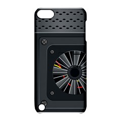Special Black Power Supply Computer Apple Ipod Touch 5 Hardshell Case With Stand by BangZart