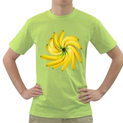 Bananas Decoration Green T Shirt