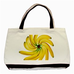 Bananas Decoration Basic Tote Bag by BangZart