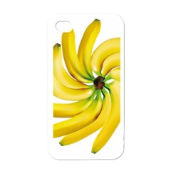 Bananas Decoration Apple Iphone 4 Case (white) by BangZart
