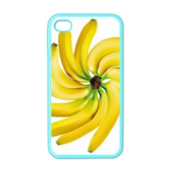 Bananas Decoration Apple Iphone 4 Case (color) by BangZart