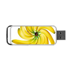 Bananas Decoration Portable Usb Flash (two Sides)