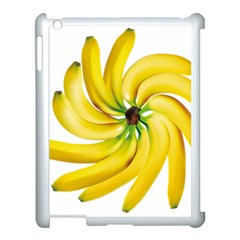 Bananas Decoration Apple Ipad 3/4 Case (white) by BangZart