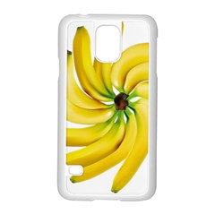 Bananas Decoration Samsung Galaxy S5 Case (white) by BangZart