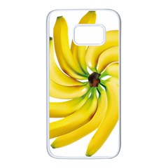 Bananas Decoration Samsung Galaxy S7 White Seamless Case by BangZart