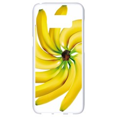 Bananas Decoration Samsung Galaxy S8 White Seamless Case