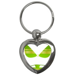 Green Swimsuit Key Chains (heart)  by BangZart