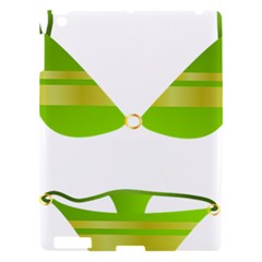 Green Swimsuit Apple Ipad 3/4 Hardshell Case by BangZart