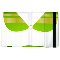 Green Swimsuit Apple Ipad 3/4 Flip Case by BangZart