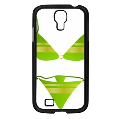 Green Swimsuit Samsung Galaxy S4 I9500/ I9505 Case (black) by BangZart