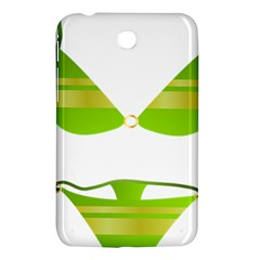 Green Swimsuit Samsung Galaxy Tab 3 (7 ) P3200 Hardshell Case  by BangZart