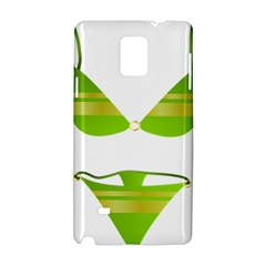 Green Swimsuit Samsung Galaxy Note 4 Hardshell Case