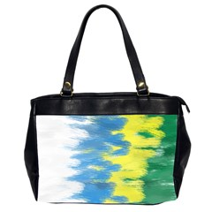 Brazil Colors Pattern Office Handbags (2 Sides)  by paulaoliveiradesign