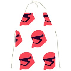 Stormtroper Pattern  Full Print Aprons by paulaoliveiradesign