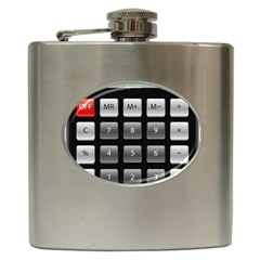 Calculator Hip Flask (6 Oz) by BangZart
