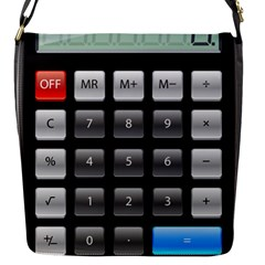 Calculator Flap Messenger Bag (s) by BangZart