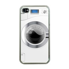 White Washing Machine Apple Iphone 4 Case (clear)